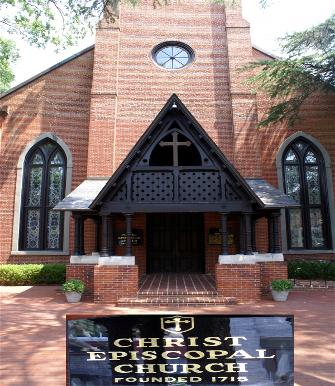 The oldest church in New Bern