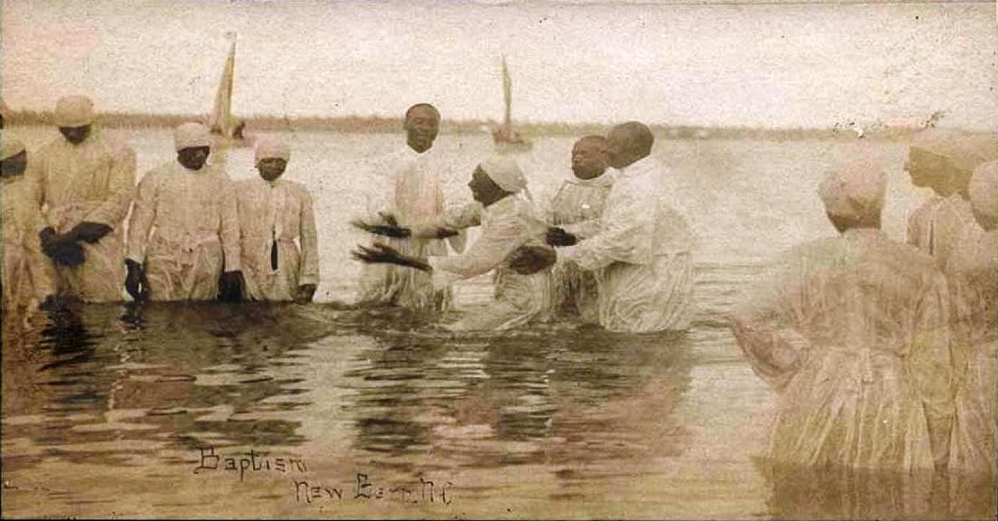 Religion was very important in the lives of black slaves living in New Bern